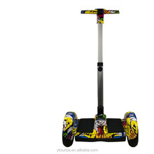8inch/10 inch 700w brushless motor 2 wheel smart self balancing electric scooter with handlebar/cheap electric skateboard