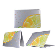 bluk wholesale price high quality PC hard flower fruit butterfly design case for mac book laptop case covers