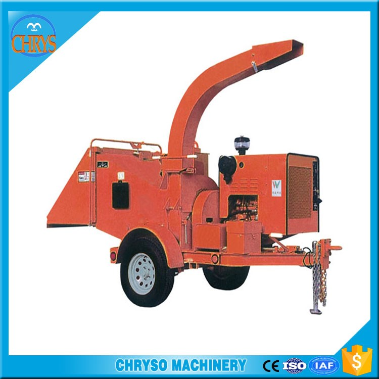 Wood tree branch cutting machine / Wood chip crushing machine