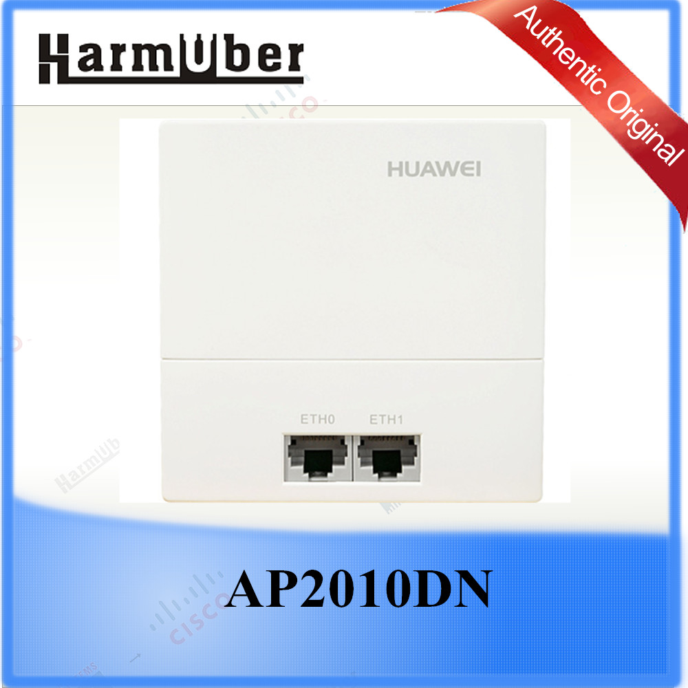 For Buildings with Densely Distributed Small Rooms Huawei AP2010DN Wall Plate Access Point