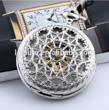 Wholesale Custom Personalized Mechanical Steampunk Watch Trendy Pocket Watch