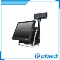 Runtouch RT-6100A Cost effective 15inch Restaurant POS machine with dual core CPU