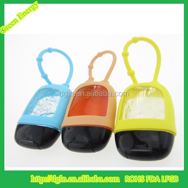 silicone rubber holder 1floz/29ml/30ml hand sanitizer