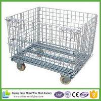 Alibaba hot selling Cargo metal wire mesh cage