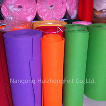 Customized needle punched industrial polyester felt