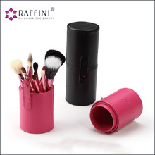 Raffini new arrival High Quality 12pcs Makeup Brush Set Professional synthetic hair Makeup Brushes with Barrel Package