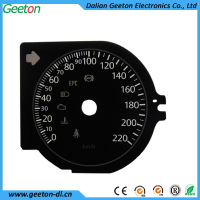 Silk Screen Printing Plastic Digital Speedometer