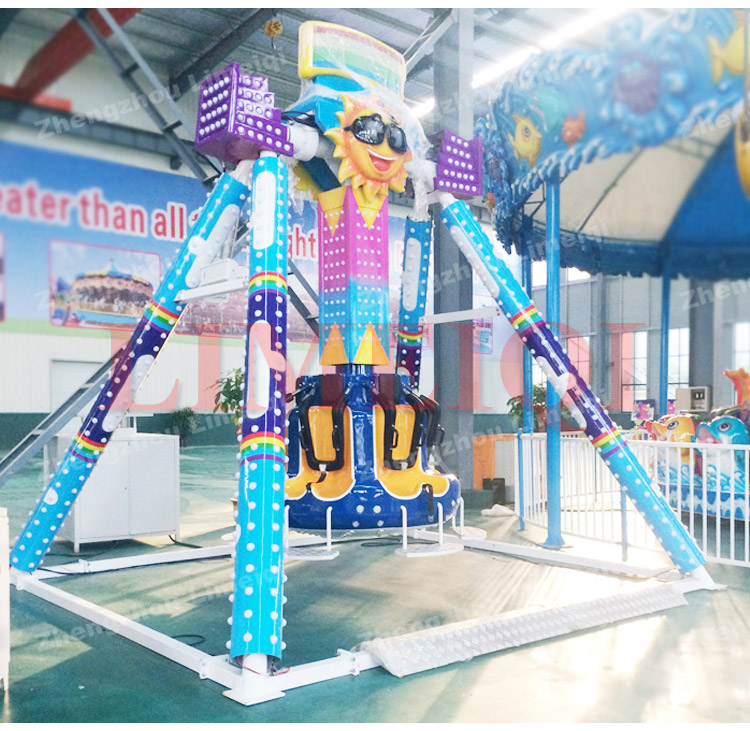 Amusement kids rides 6 seats mini pendulumsmall swing pendulum for sale