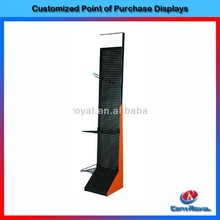 Modern design metal display book rack book shelf with cheap price
