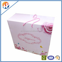 Custom printed foldable paper mailer boxes for gift