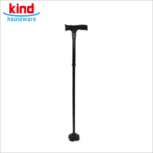 Latest style black ultimate magic cane with alarm walking stick for old people