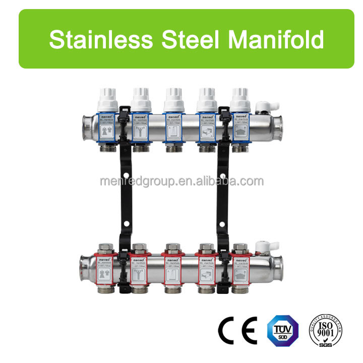 B6...stainless steel adjusting water manifold