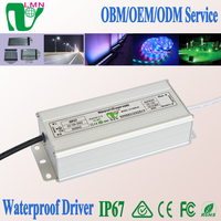 80W Constant Voltage DC 12V/24V Waterproof IP67 LED Power supply