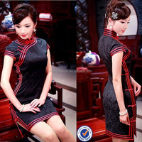 chinese traditional cheongsam short qipao dress