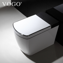 Italian Style Western Auto Flush ISO9001 Smart One Piece Toilet