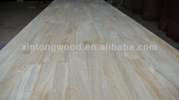 paulownia finger jointed panels/boards for construction with natural color