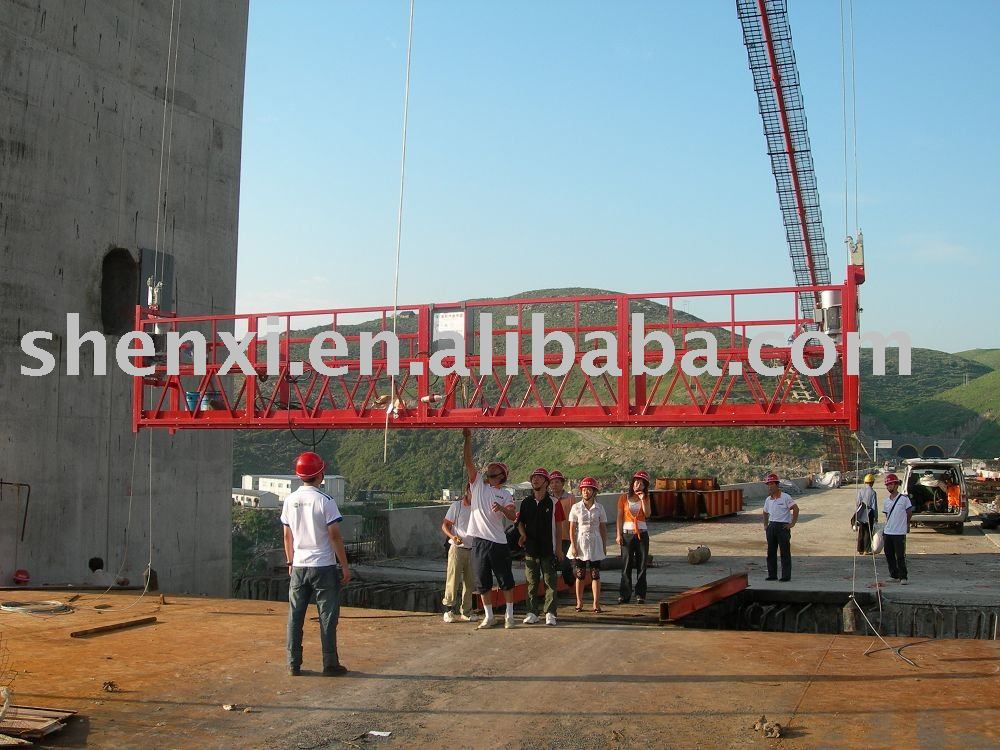 suspended platform/working platform/cradle/gondola/swing stage