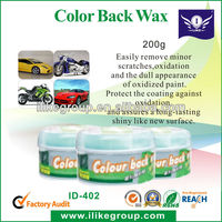 Color Back Wax,Car Wash,Carnauba Car Wax