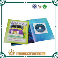 Hot Sale English Story Child Book With CD/ Hardcover Child Book printing