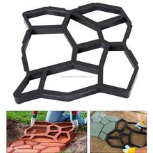 Garden decoration manually paving cement concrete brick mold