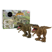 Popular Battery Operated Plastic Walking Dinosaur Model Tyrannosaurus <strong>Toys</strong>