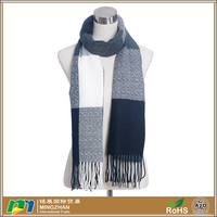 Super soft thick woven tassel oversized crocheted knitting scarf for women