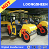 3 ton wheel types of road roller self-propelled vibratory road roller