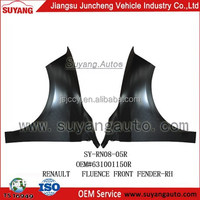 JUNCHENG MOTOR IRON SPARE PARTS FRONT FENDER APPLY TO RENAULT FLUENCE