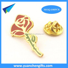 new design custom metal lapel pin,men's flower lapel pin for suit
