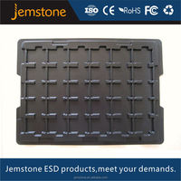 Excellent strength ESD Electronic Component Blister Tray