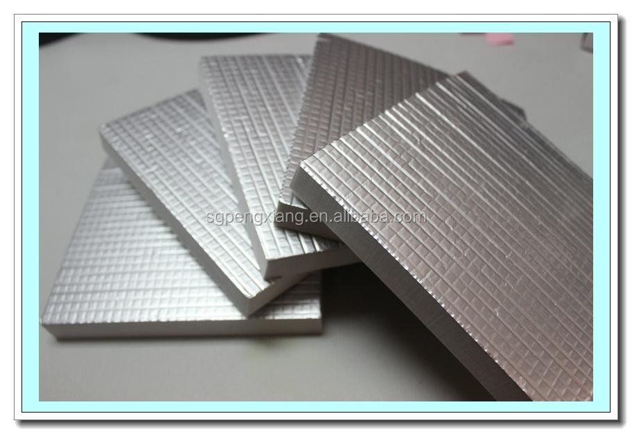 Aluminum faced veneered mdf plywood price aluminium