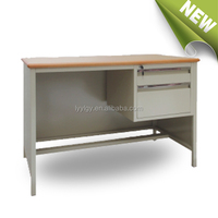Widely Used Thailand Stainless steel computer iron desk modern table models office furniture/Luoyang yulong