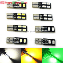 Car Auto LED T10 194 W5W Canbus 4 smd 5630 5730 LED Light Bulb No error led light