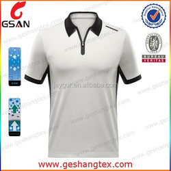 Man short sleeve golf polo shirt custom dry fit polo