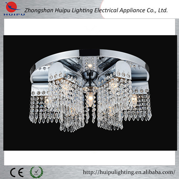Cheap E27 big acrylic shade indoor ceiling lamp