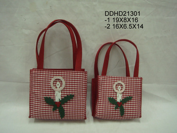Non-woven bag items (candle)