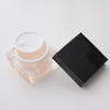 square cosmetic jar acrylic square packaging for cosmetic