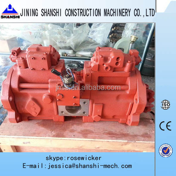 Volvo excavator parts EC360 hydraulic pump main pump Kawasaki hydraulic pump K3V180DT used for volvo excavators