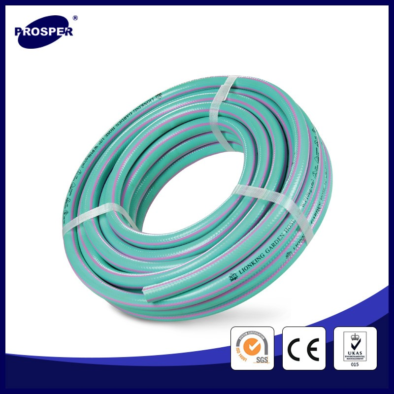 flexible and durable pvc plastic garden hose for cleaning cattle shed