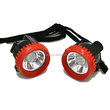 2.5AH Cordless LED rechargeable mining caplamp miners lamp wireless explosion proof headlamp