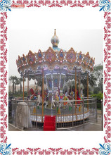 Water proof 16 Seats Circus Music Carousel,Kids Carousel Rides,Carousel Horse Rides For Sale for sale with CE approved