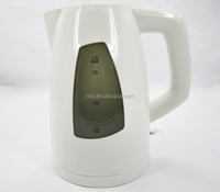 CE GS certificate plastic hot boil kettle/ automatic push-button control electric water kettle