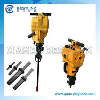 Quarrying tools Bore hole drilling machine for stone or concrete for USA market