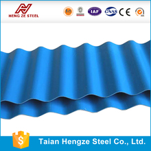 pre-painted galvanized Corrugated/Zinc-Coated Sheet Metal Roofing Sheet