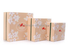 Free sample decorative luxury valentine gift packaging cardboard paper chocolate box