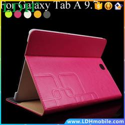 Luxury Tablet For Samsung Tab A 9.7 Leather Flip Book Stand Cover Case For samsung Galaxy Tab A 9.7 SM-T550 T555 Protective