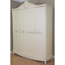 Spain Style Vintage Carved Bedroom Wardrobe Designs
