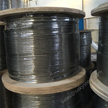 50 mesh wire rope 5 x 26 stainless steel fence