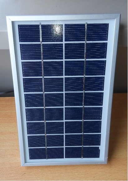 New design 3W 9V polycrystalline silicon mini solar panel for led light