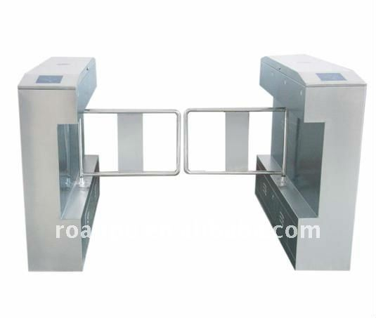 CE Proved Access Control Stainless Steel Swing Barrier Turnstile